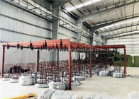 Double Twist Gabion Production Line 2300mm Net Width 22.0kw With High Speed  Boiler Cover