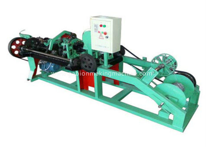 High Speed Barbed Wire Machine Reliable Operation For National Border Lines